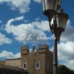 Mesagne - Castello e lampione