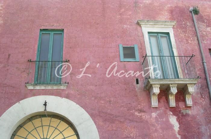 Puglian red colour