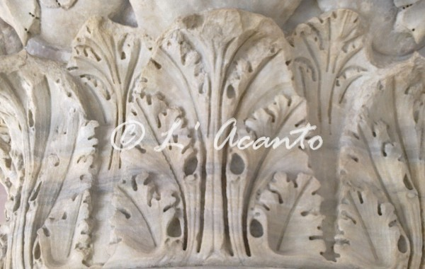 l'Acanto leaf decoration