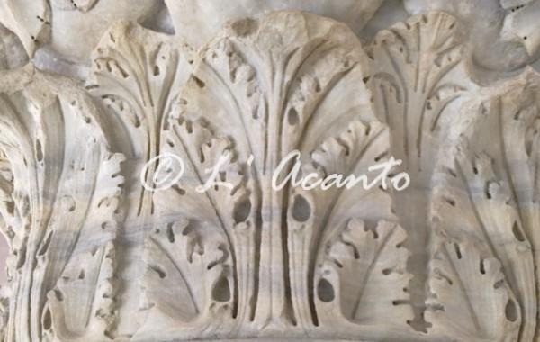 l'Acanto leaf decoration