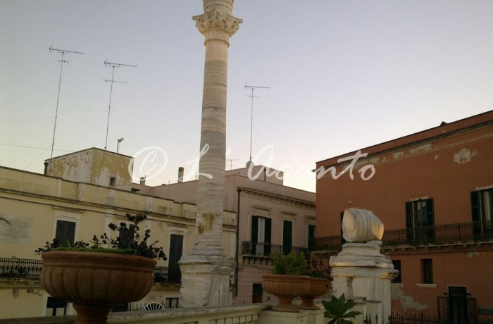 Roman columns in Brindisi