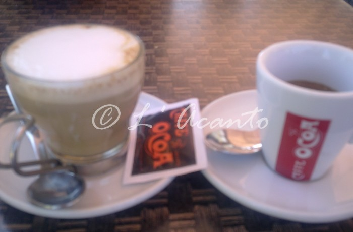 Pausa, cappuccino or coffee?