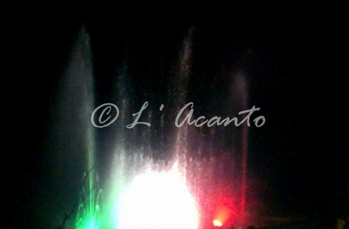 Italian fountains ballet